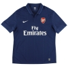 2009-10 Arsenal Away Shirt #4 *Mint* XL