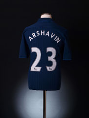 2009-10 Arsenal Away Shirt Arshavin #23 M