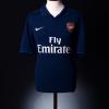 2009-10 Arsenal Away Shirt Arshavin #23 *Mint* L