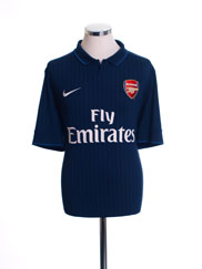 2009-10 Arsenal Away Shirt M