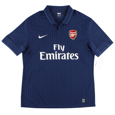 2009-10 Arsenal Player Issue Away Shirt *w/tags* XL