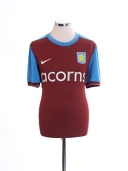 2009-10 Aston Villa Home Shirt M