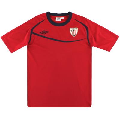 2009-10 Athletic Bilbao Umbro Training Shirt S