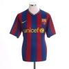 2009-10 Barcelona Home Shirt A.Iniesta #8 M