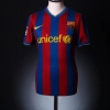 2009-10 Barcelona Home Shirt Messi #10 L.Boys