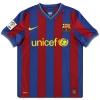 2009-10 Barcelona Nike Home Shirt Messi #10 S