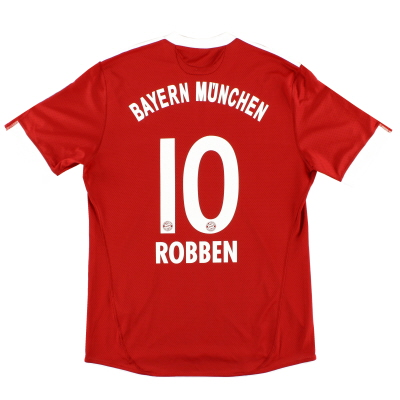 2009-10 Bayern Munich Home Shirt Robben #10 L