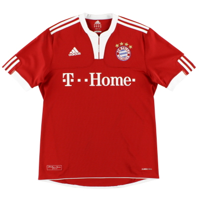2009-10 Bayern Munich adidas Home Shirt L