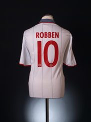 2009-10 Bayern Munich Third Shirt Robben #10 L