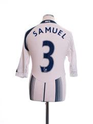 2009-10 Bolton Home Shirt Samuel #3 M