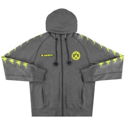 2009-10 Borussia Dortmund Kappa Hoodie S
