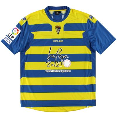 2009-10 Cadiz Kelme Away Shirt *Mint* XXL
