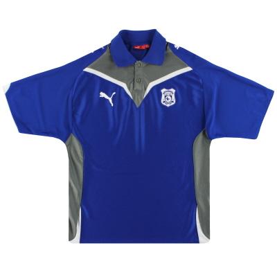 2009-10 Cardiff City Puma Polo Shirt M