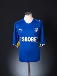 2009-10 Cardiff Home Shirt L