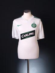2009-10 Celtic European Away Shirt L