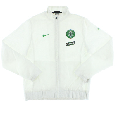 2009-10 Celtic Nike Woven Warm-Up Jacket L