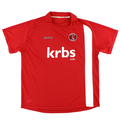 2009-10 Charlton Home Shirt XXXL