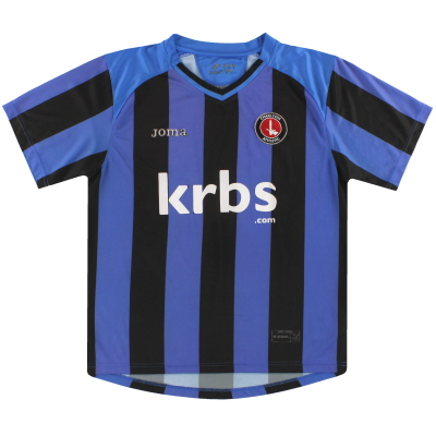 2009-10 Charlton Joma Away Shirt S