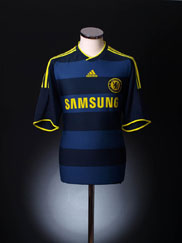 2009-10 Chelsea Away Shirt Y