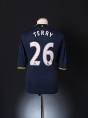 2009-10 Chelsea Away Shirt Terry #26 XL