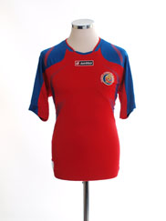 2009-10 Costa Rica Home Shirt S