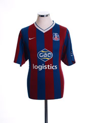 2009-10 Crystal Palace Home Shirt M