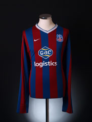 2009-10 Crystal Palace Home Shirt L/S XXL