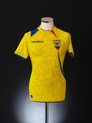2009-10 Ecuador Home Shirt S