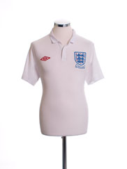 2009-10 England Home Shirt XL