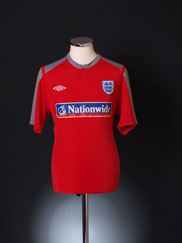 2009-10 England Training Shirt XL