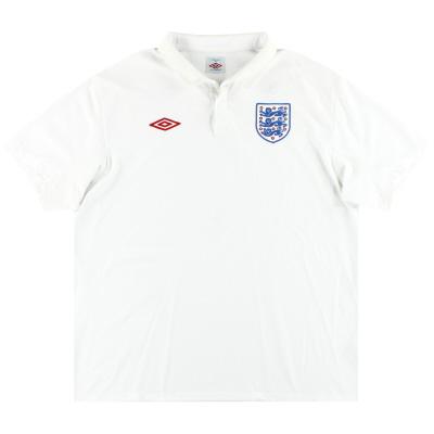 2009-10 England Umbro Home Shirt XXL