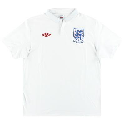 2009-10 England Umbro Home Shirt XL