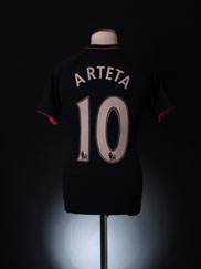 2009-10 Everton Away Shirt Arteta #10 S