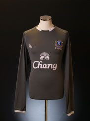 2009-10 Everton Goalkeeper Away Shirt L/S L