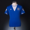2009-10 Everton Home Shirt Saha #8 XXL.Boys