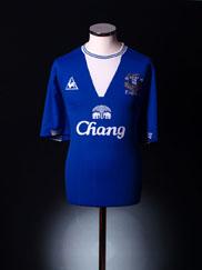 2009-10 Everton Home Shirt  XXXL