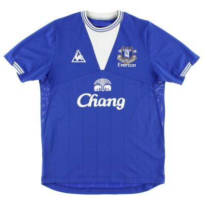 2009-10 Everton Le Coq Sportif Home Shirt S