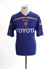 2009-10 Fiorentina Basic Home Shirt M