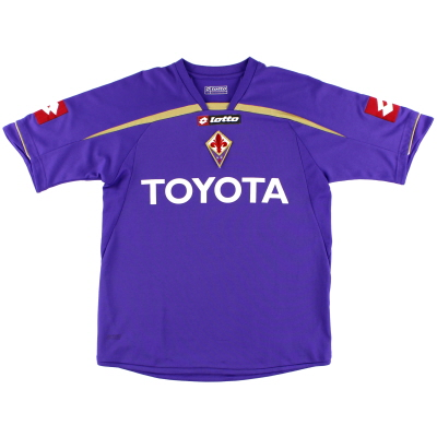 2009-10 Fiorentina Home Shirt S