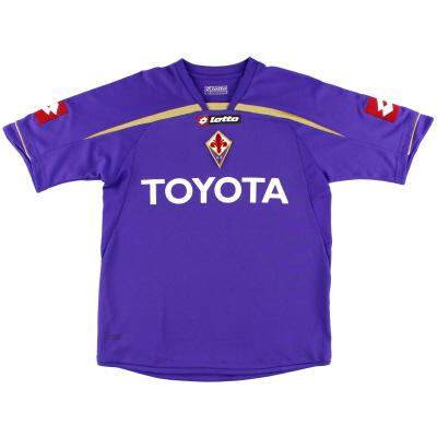 2009-10 Fiorentina Lotto Home Shirt S