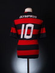 2009 -10 Flamengo Home Shirt #10 *Mint* L