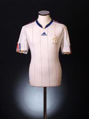 2009-10 France Away Shirt L