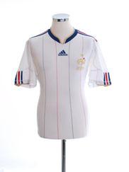 2009-10 France Away Shirt Y