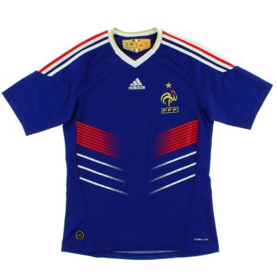 2009-10 France Home Shirt *Mint* S