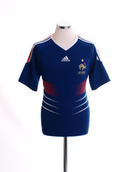 2009-10 France Home Shirt *Mint* M