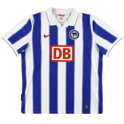 2009-10 Hertha Berlin Nike Home Shirt XL