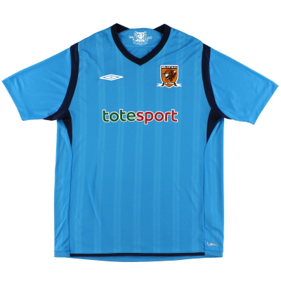 2009-10 Hull City Umbro Away Shirt L