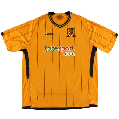 2009-10 Hull City Home Shirt XXL