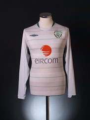 2009-10 Ireland Away Shirt L/S *Mint* M