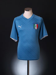 2009 Italy Confederations Cup Home Shirt L